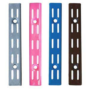 Spur Shelving | Spur Brackets & Uprights  | Office Shelving | Wall Shelving | DIY Shelving | Industrial Shelving | Spur Steel-Lok ZZSLU100**PC Gloss Aluminium/Silver,Brown,Royal Blue,Pink