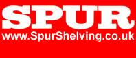 Spur Shelving Manufacturer of Wall mounted  Free Standing Shelving for warehouse offices and homes