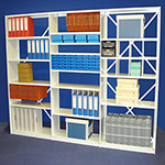 Spur Office Shelving | Rolled Edge | Document Shelves | NHS Medical Records File
